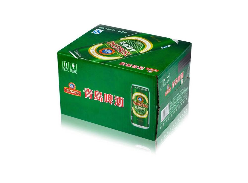 qing岛啤酒纸箱