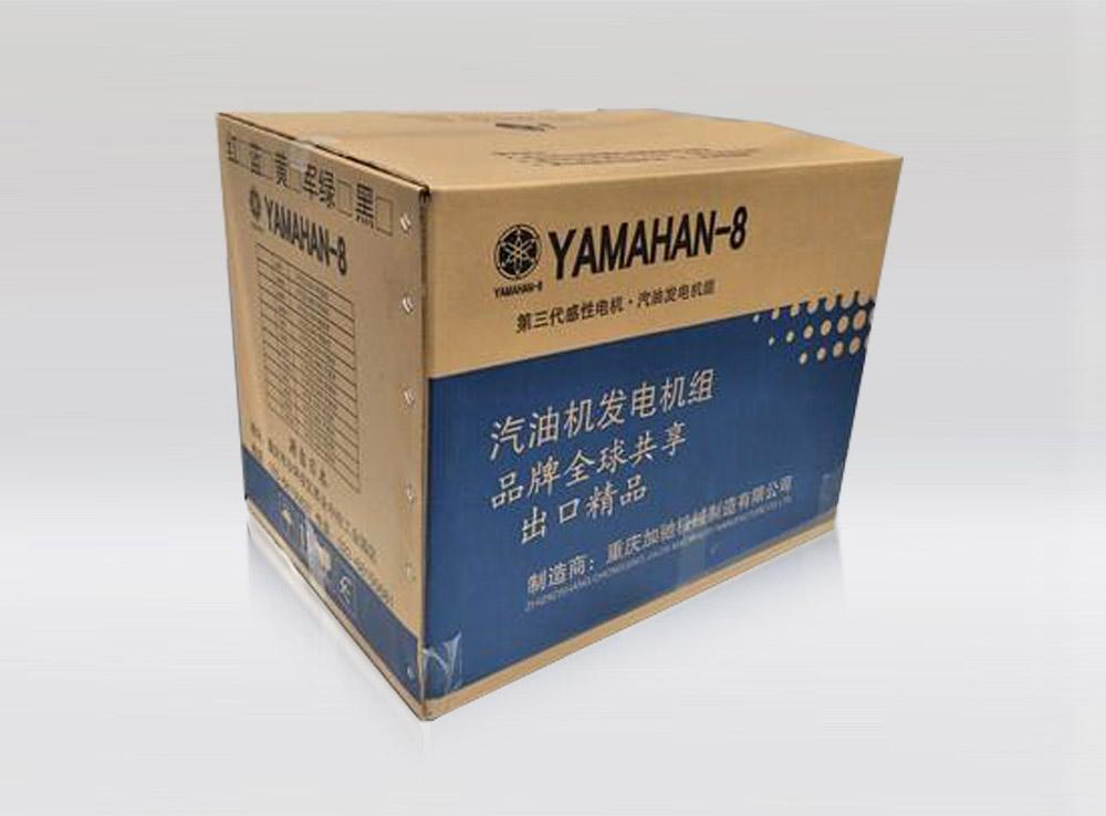 雅马ha发电机组纸箱包装盒