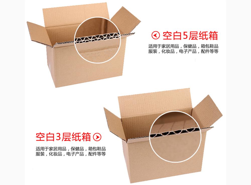 空白3层、5层纸箱